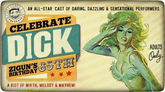 Dick Zigun's 65th Birthday Show