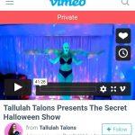 Rent Tallulah's Halloween Show
